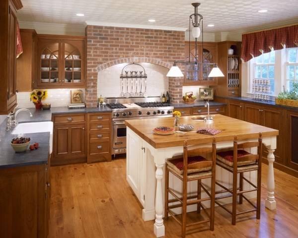 Кухня в стиле кантри: секреты деревенского уюта