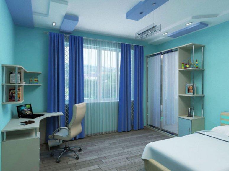 Бирюзовая спальня — потрясающий дизайн спальни с бирюзовым оттенком