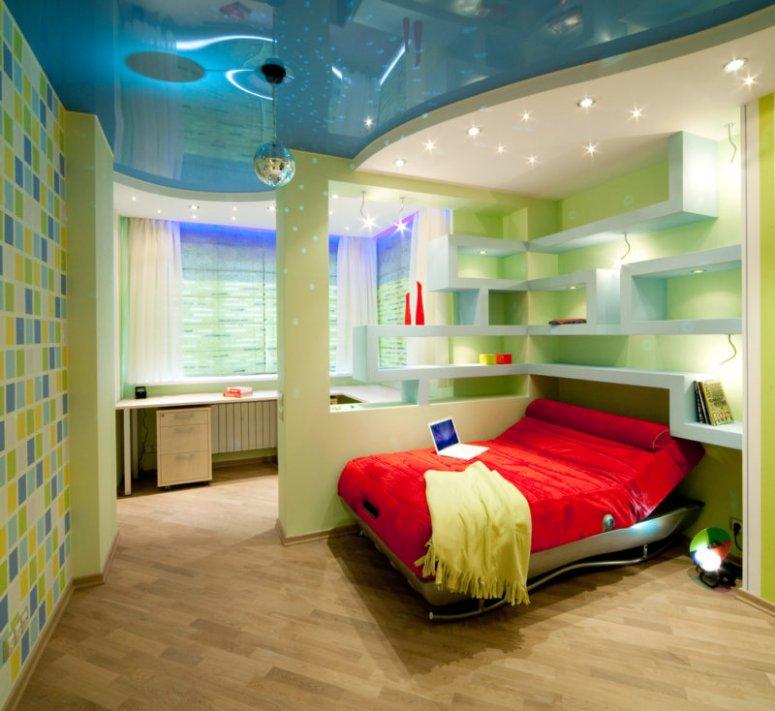 Спальня для подростка - стильные идеи современного дизайна