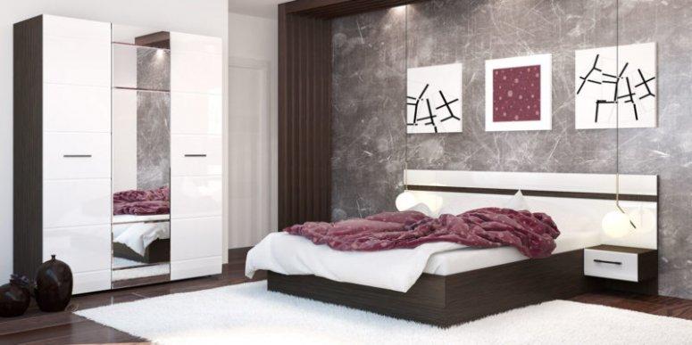 Спальня венге - современный цвет с переливом