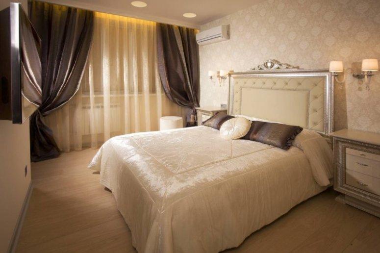 Спальня в однокомнатной квартире — готовые решения дизайна от профи
