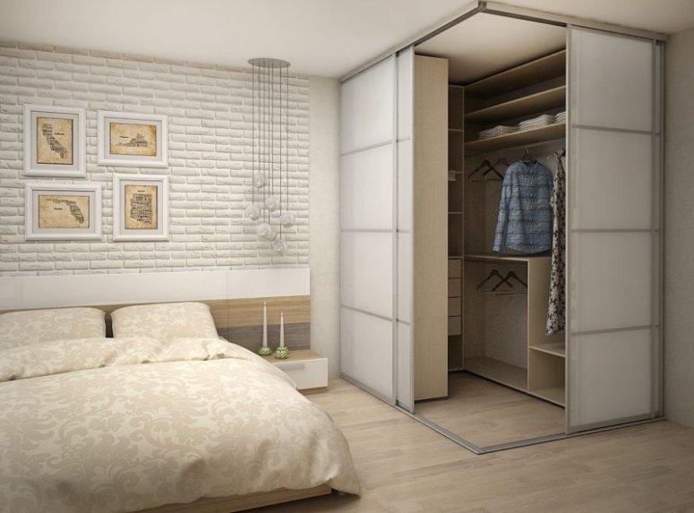 Гардеробная в спальне — советы какой она должна быть!