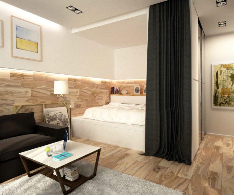 Ниша в спальне - как оформить красивую нишу в спальне