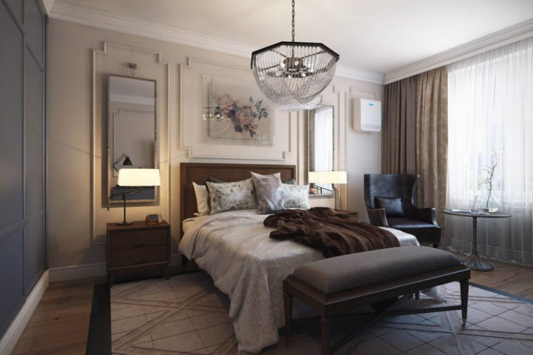 Красивые спальни