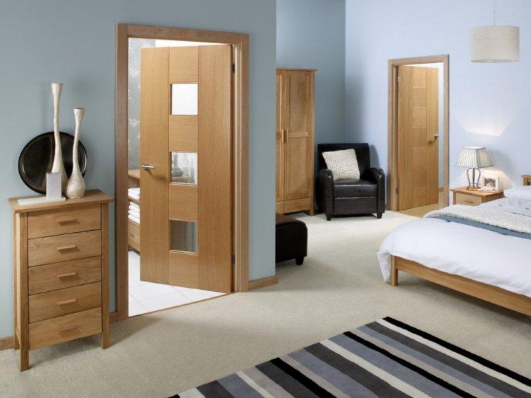 Двери в спальню