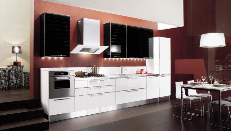 Кухня в стиле конструктивизм