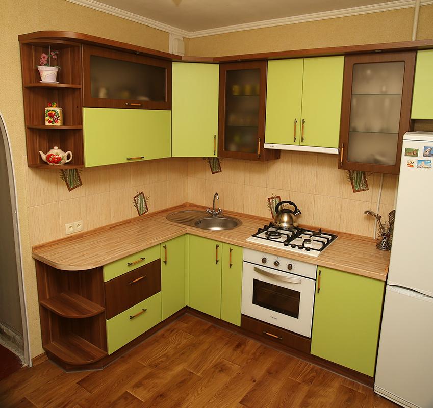 Дизайн кухни в панельном