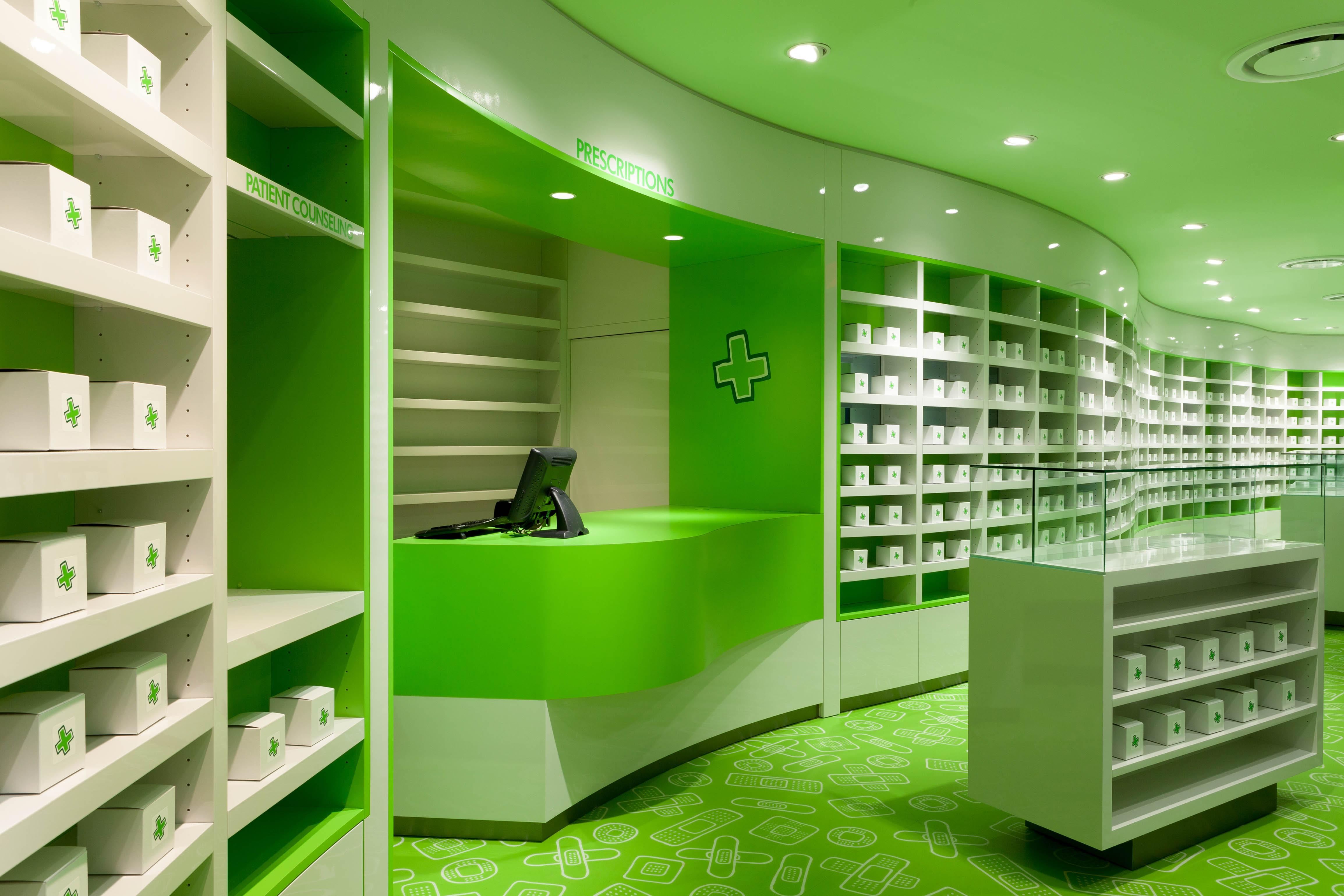 Дизайн для аптек