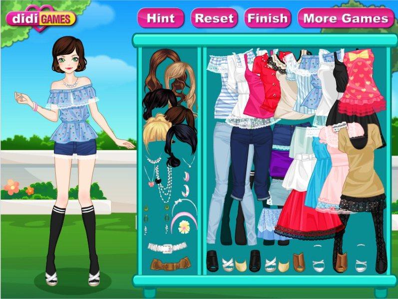 Бесплатно играть в игры для девочек одевалки и макияж