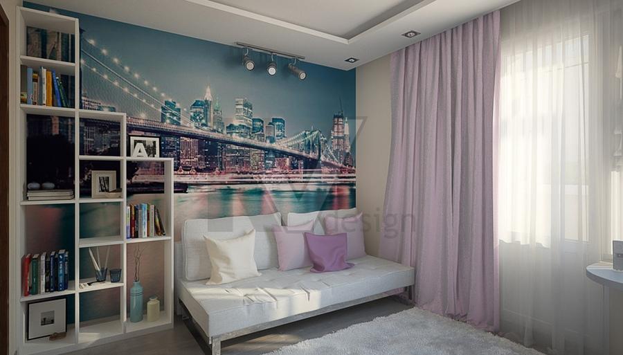 Комната 12 кв.м для девушки дизайн фото