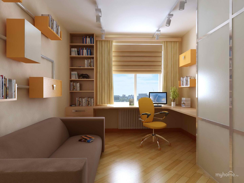 Интерьер комнаты 12 кв.м для подростка фото