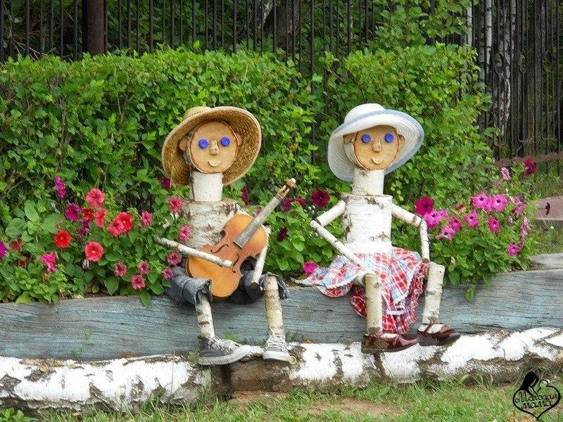 Умельцы своими руками для сада и дачи фото