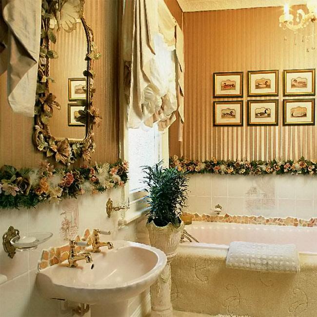 Декор в ванной комнате своими руками фото