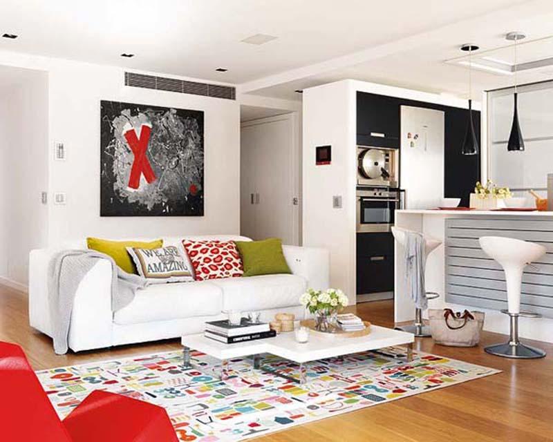 Дизайн европейской гостиной