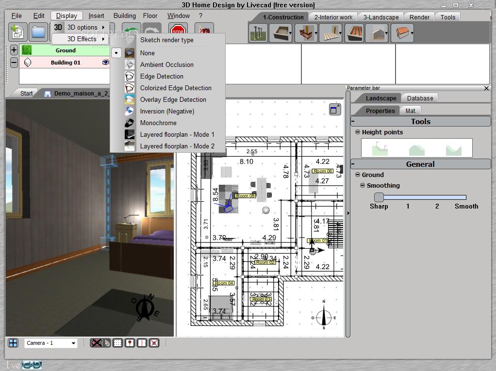 3d interior design software free mac for Wohnung design programm mac