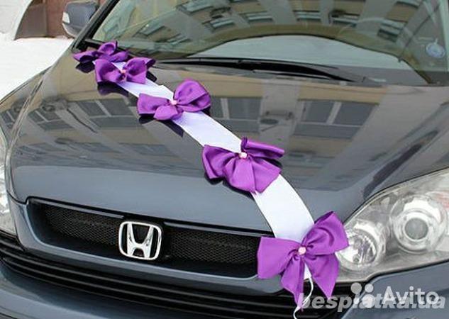 Сделать украшения на машину на свадьбу своими руками фото