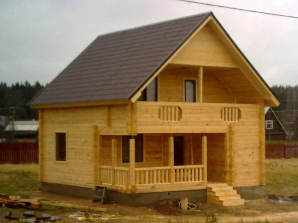 Построить дачный домик под ключ недорого