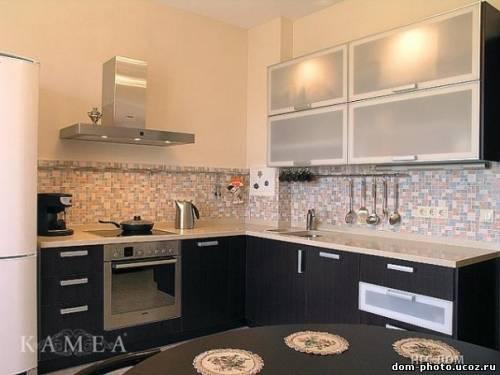 Фото дизайн кухни стандартной квартире