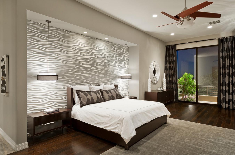 Дизайн освещение спальни