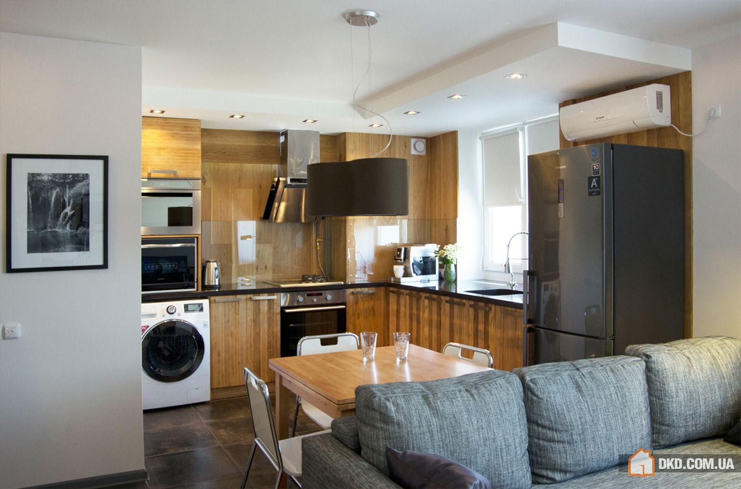 Как сделать кухню в квартире-студии