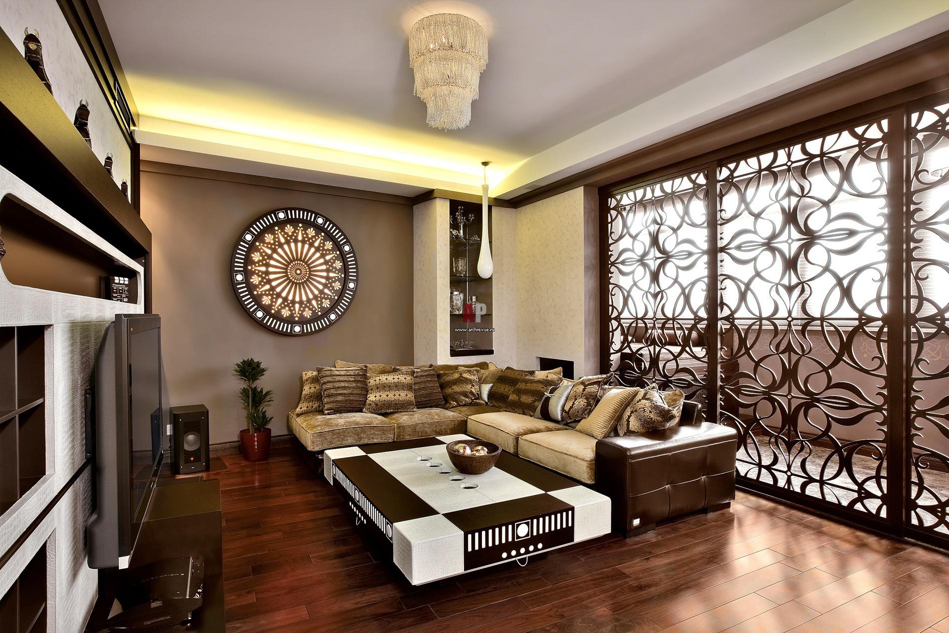 Дизайн интерьера в восточном стиле с