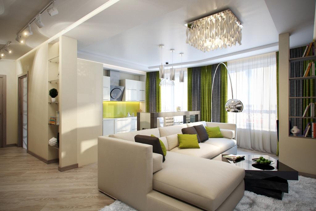 3 комнатная квартира дизайн
