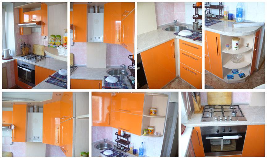 Дизайн маленькой угловой кухни в квартире
