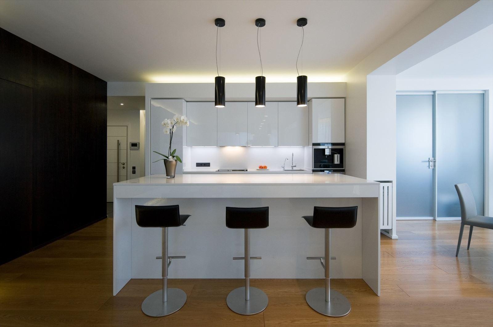 Лучшие интерьеры кухни в стиле минимализм фото