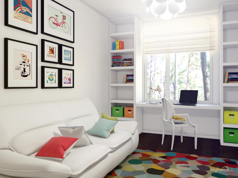 Стильный дизайн комнаты для девочки подростка