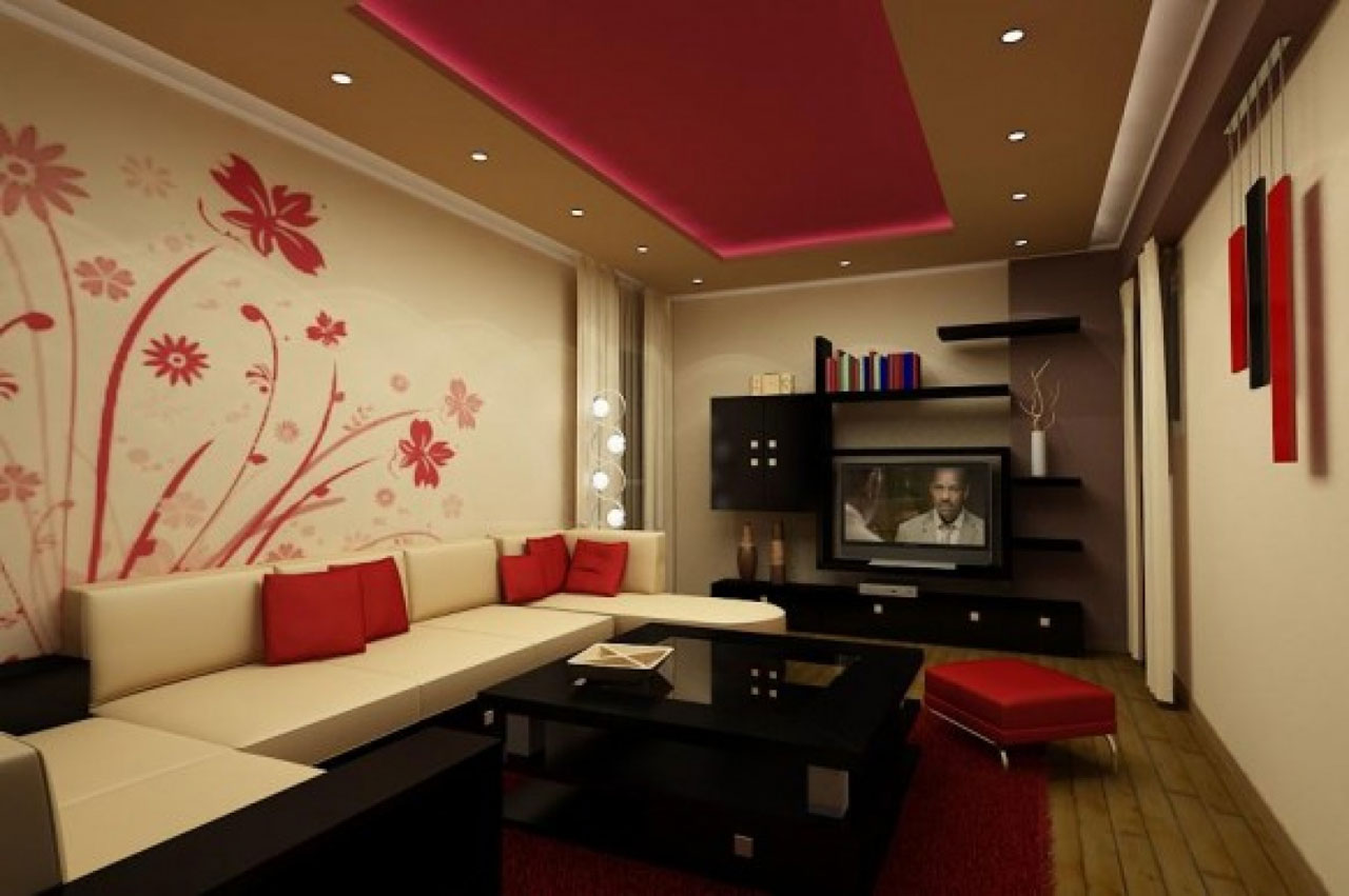 Дизайн гостинных комнат на