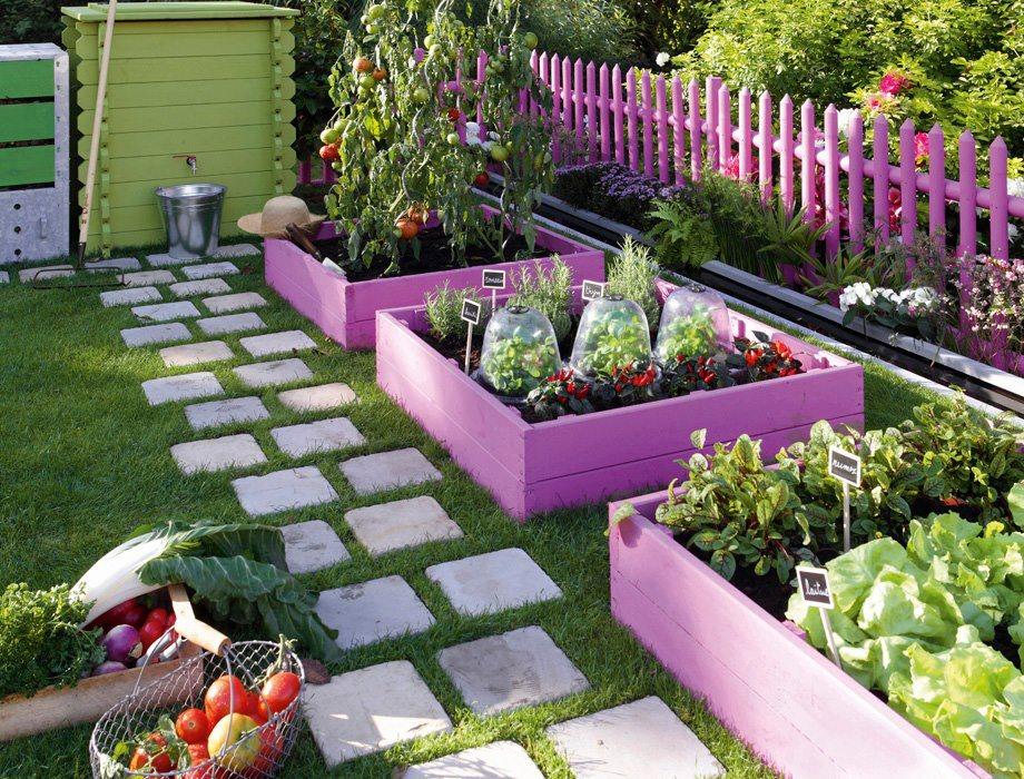 Оформление огорода сада своими руками