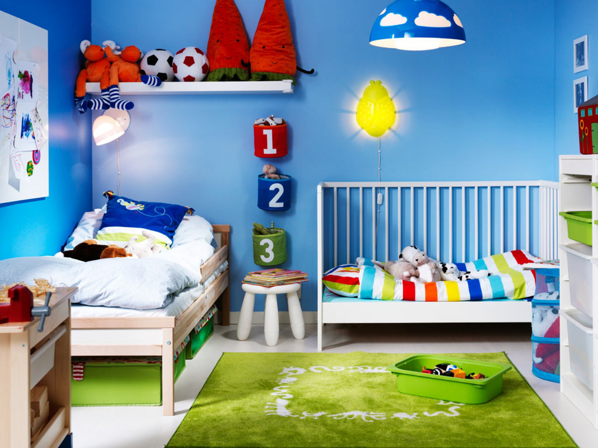 Дизайн для комнат детская 2 дети