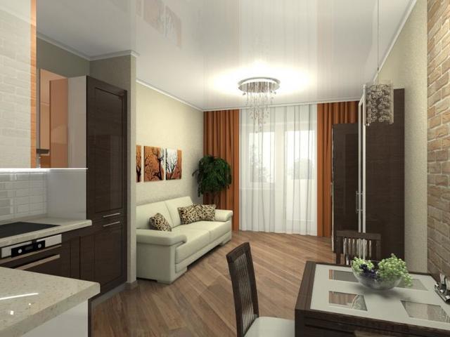 Дизайн проект квартиры 20 кв.м