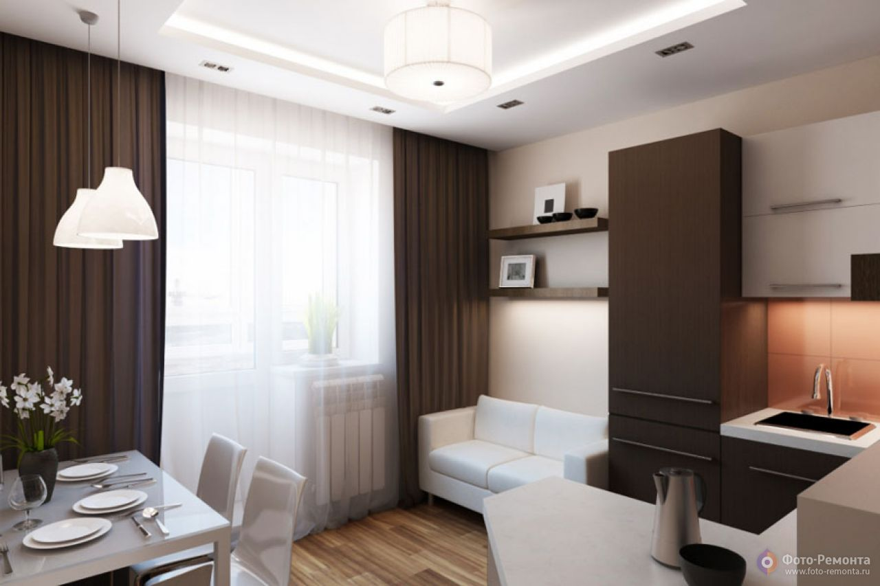 Тонкости дизайна кухни площадью 12 кв м на 30 ФОТО