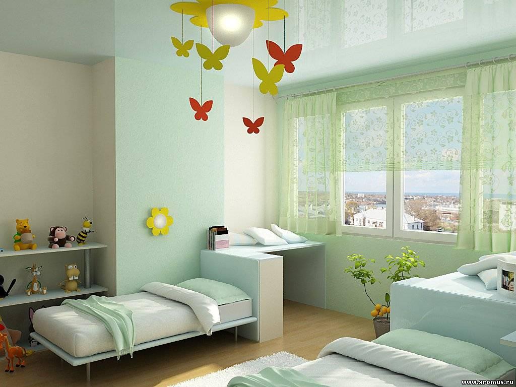 """Дизайн детской спальни своими руками """" Картинки и фотографии дизайна квартир, домов, коттеджей"""