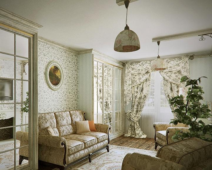Дизайн интерьера квартир в стиле прованс интерьер