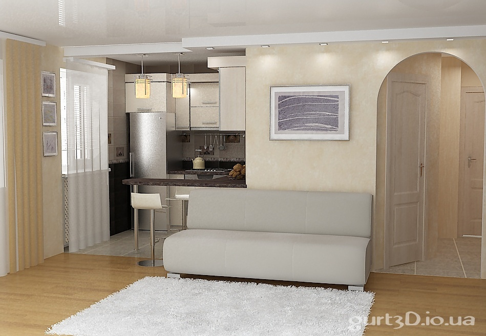 Фото дизайн 2х комнатной квартиры хрущевки 44м2