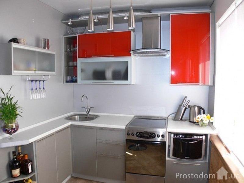 Дизайн кухни 4.8 кв.м