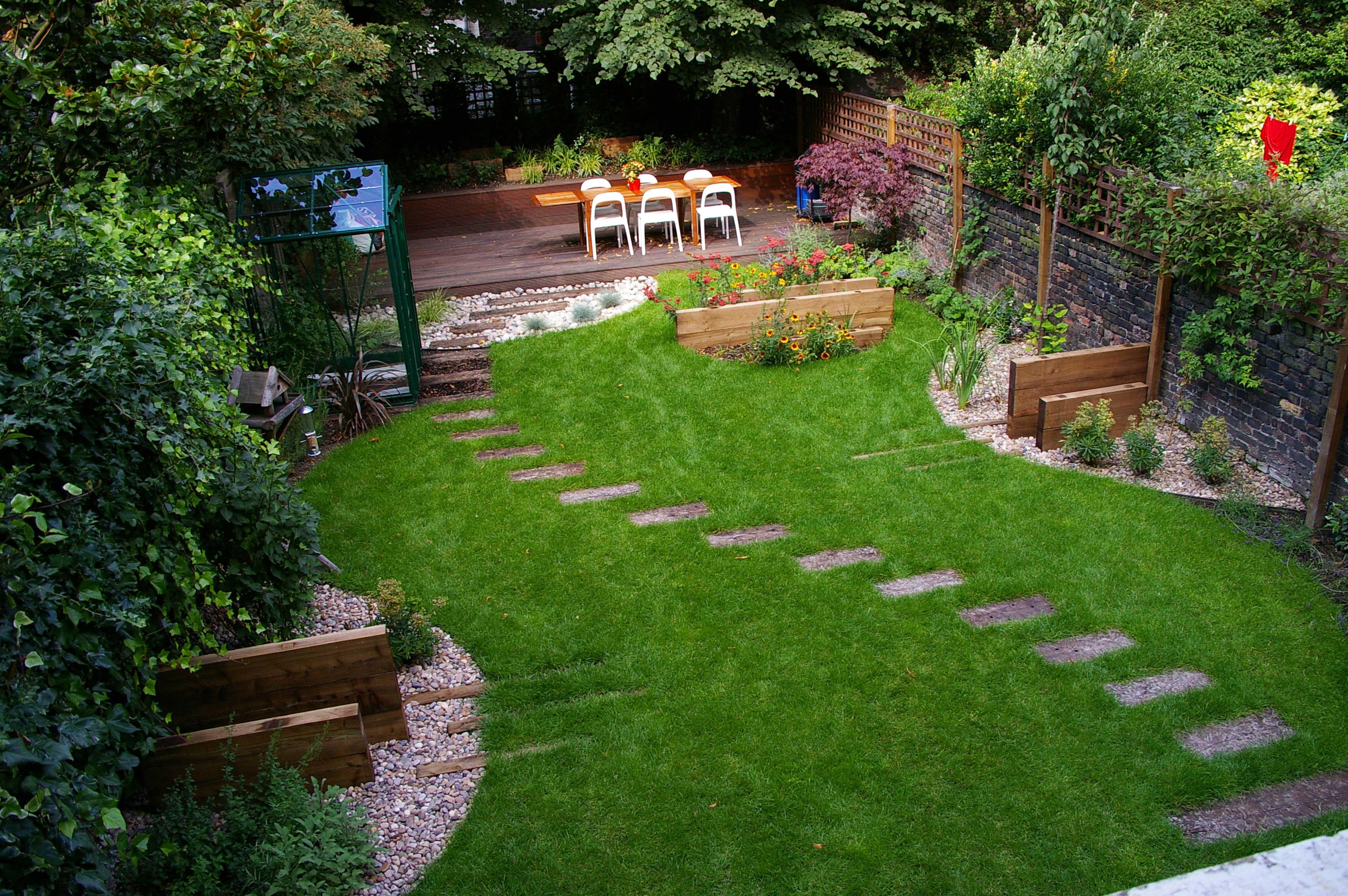 Дизайн на садовом участке видео