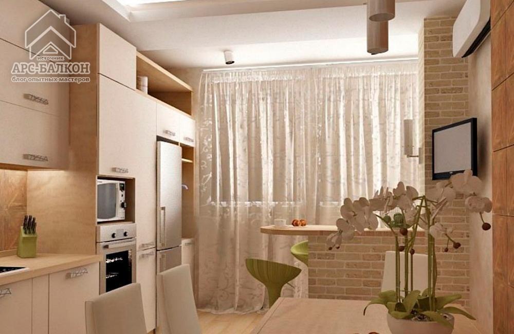 Дизайн маленькой кухни с балконом. дизайн кухни с балконом: .