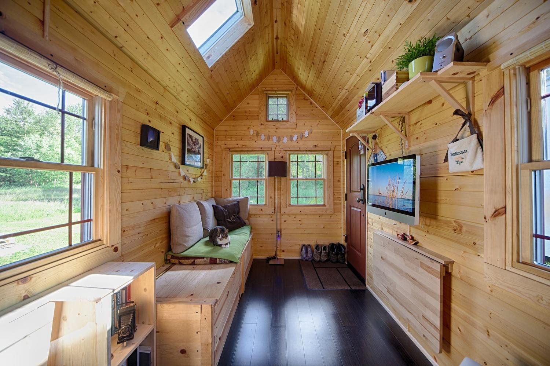 Интерьер маленького дачного дома внутри своими руками фото