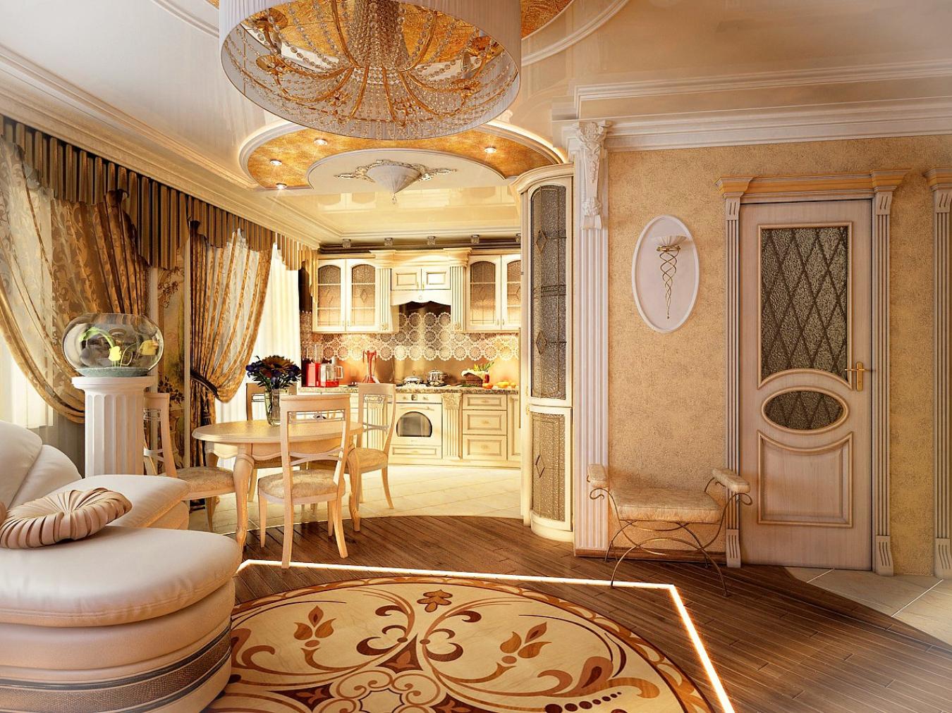Дизайн квартир классический стиль