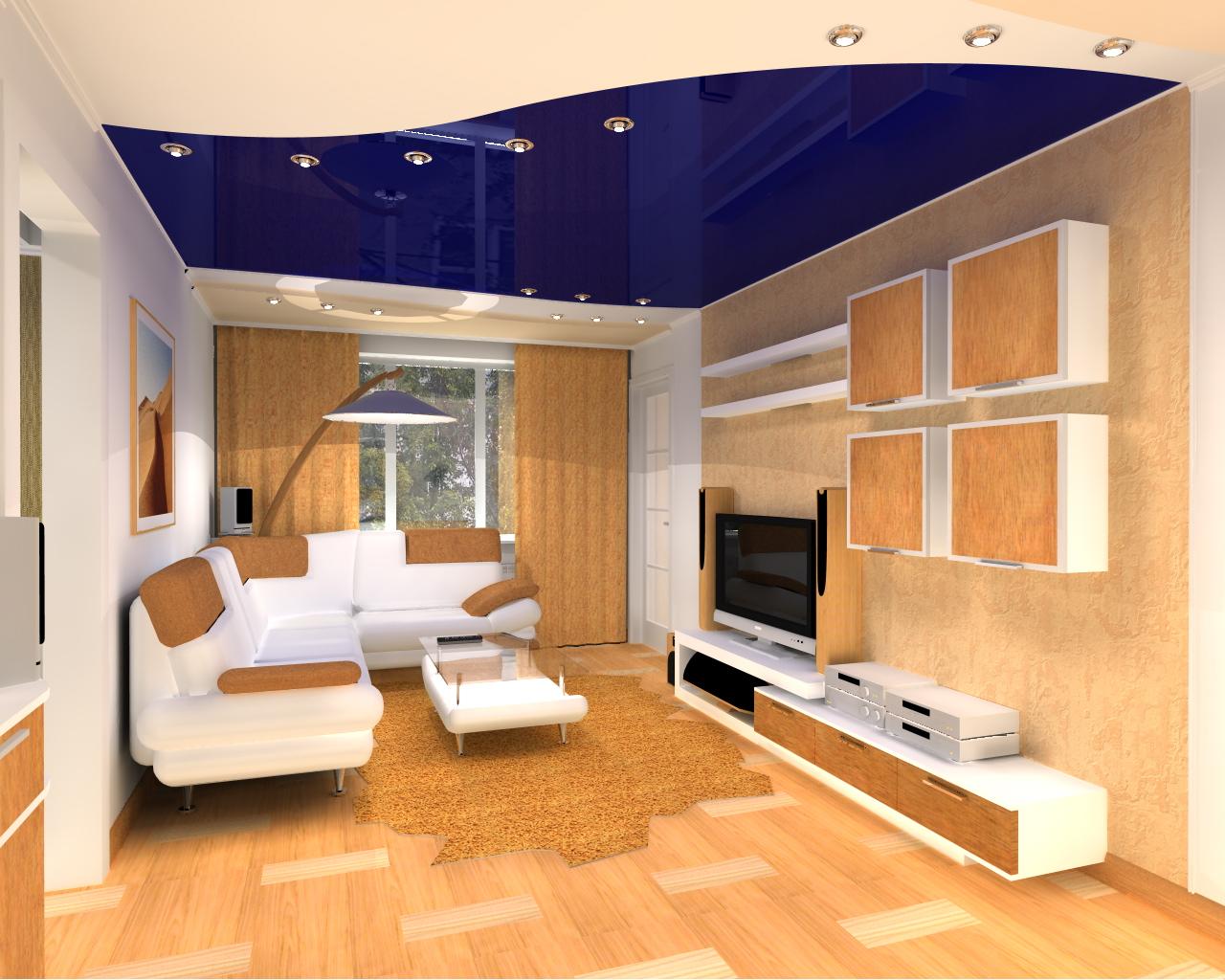 Как самой сделать дизайн зала в квартире