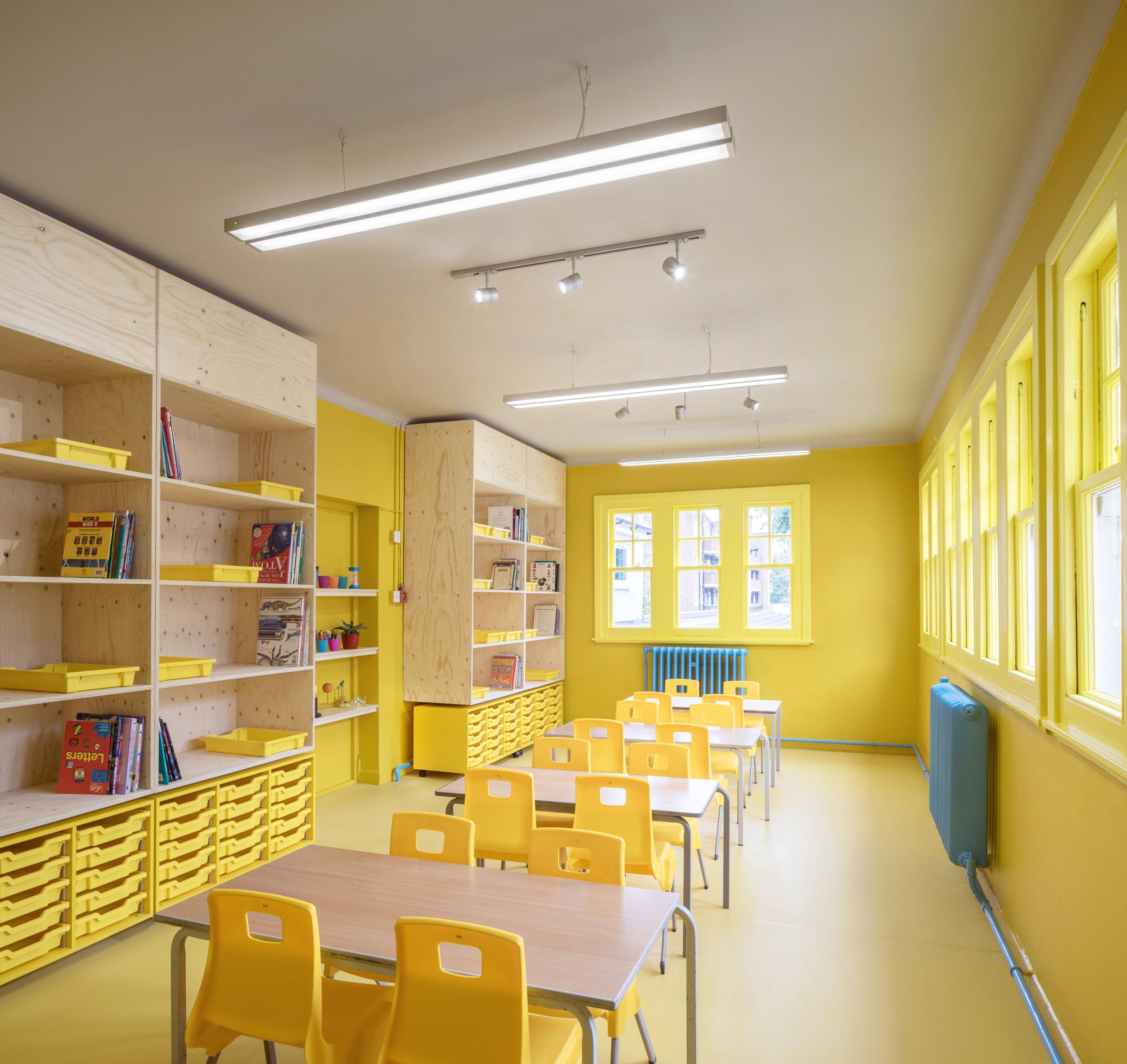 Дизайн класса в школе