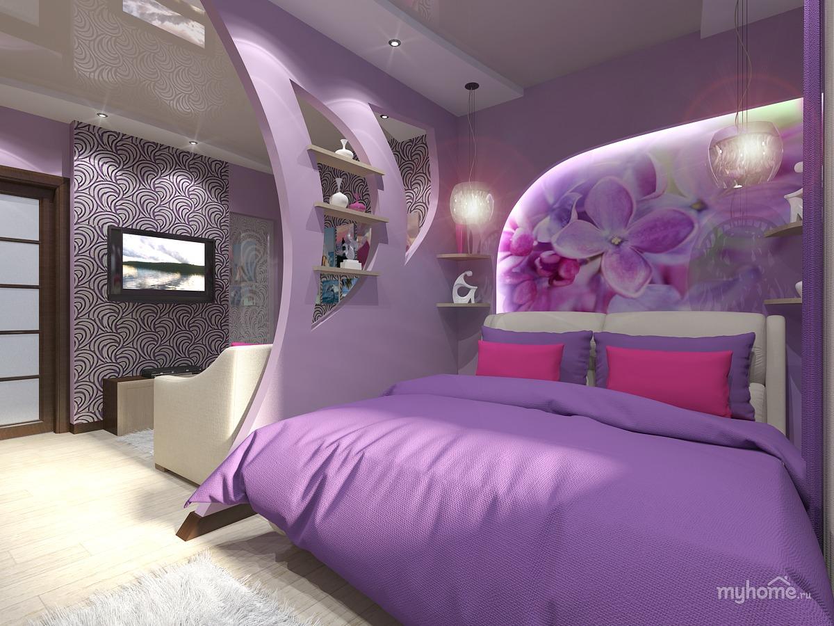 Как в комнате сделать и спальню и гостиную 18 кв.м