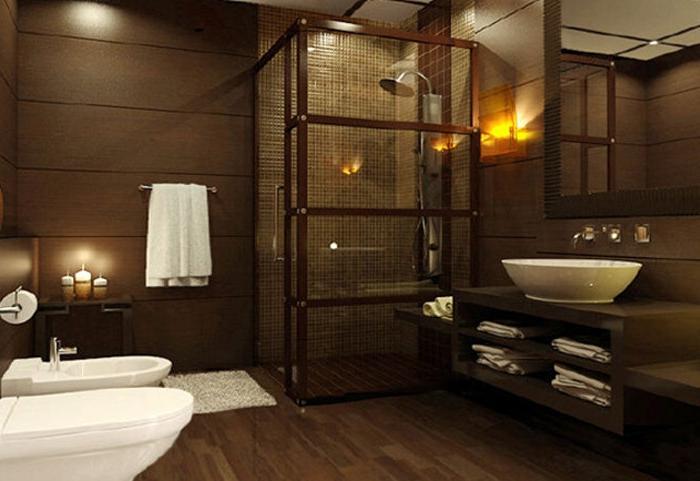 Гостиная в коричневых тонах: интерьер и дизайн, советы
