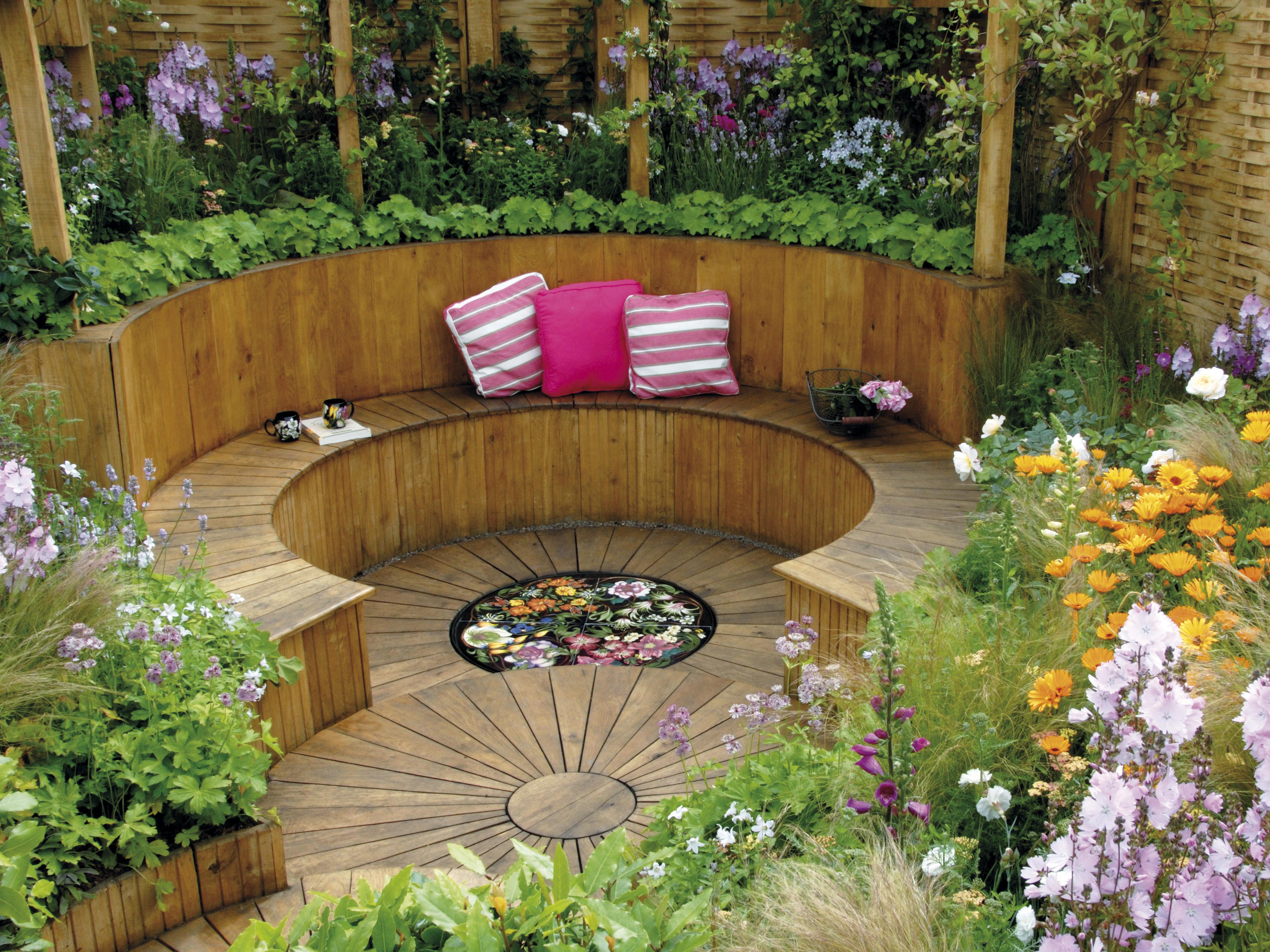 Дизайн сада для отдыха