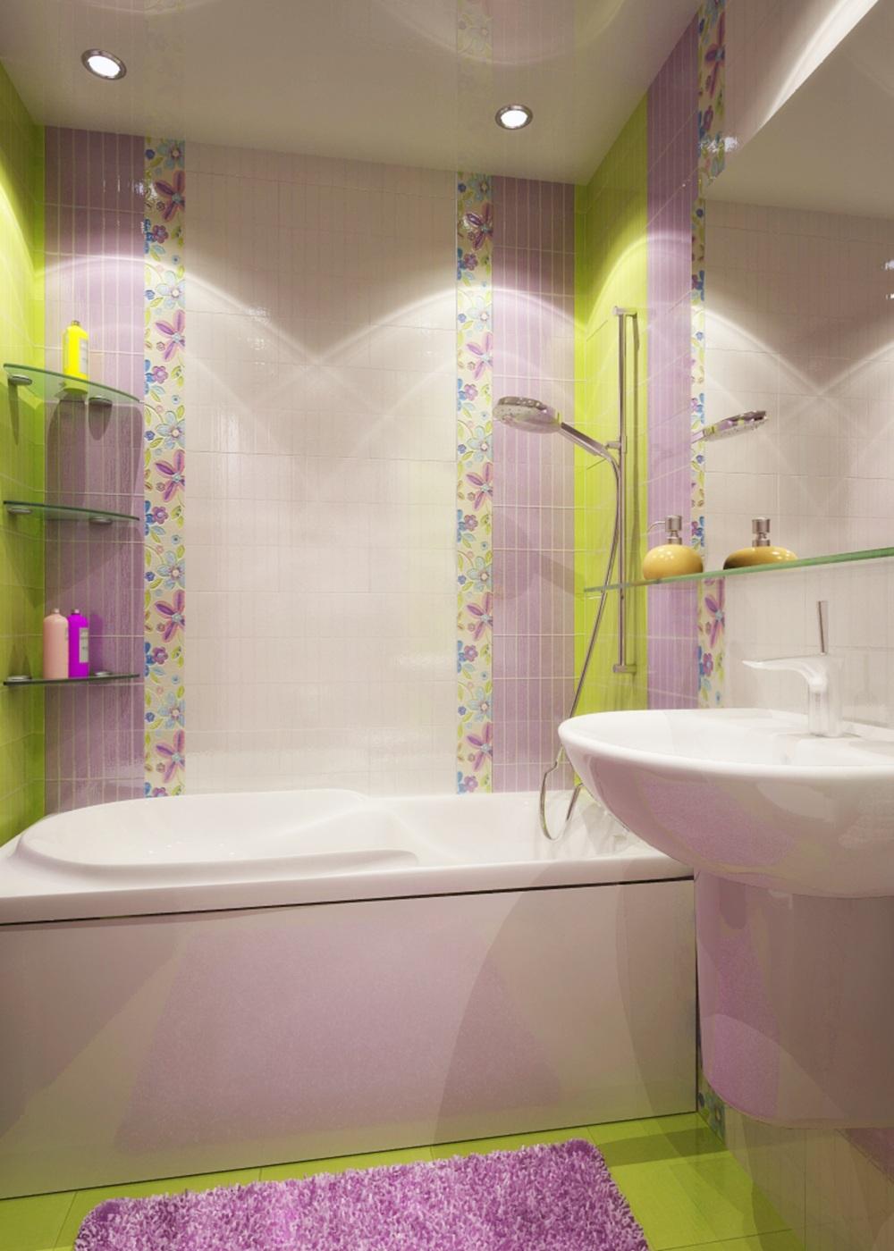 Фото дизайн кафель маленькая ванная комната