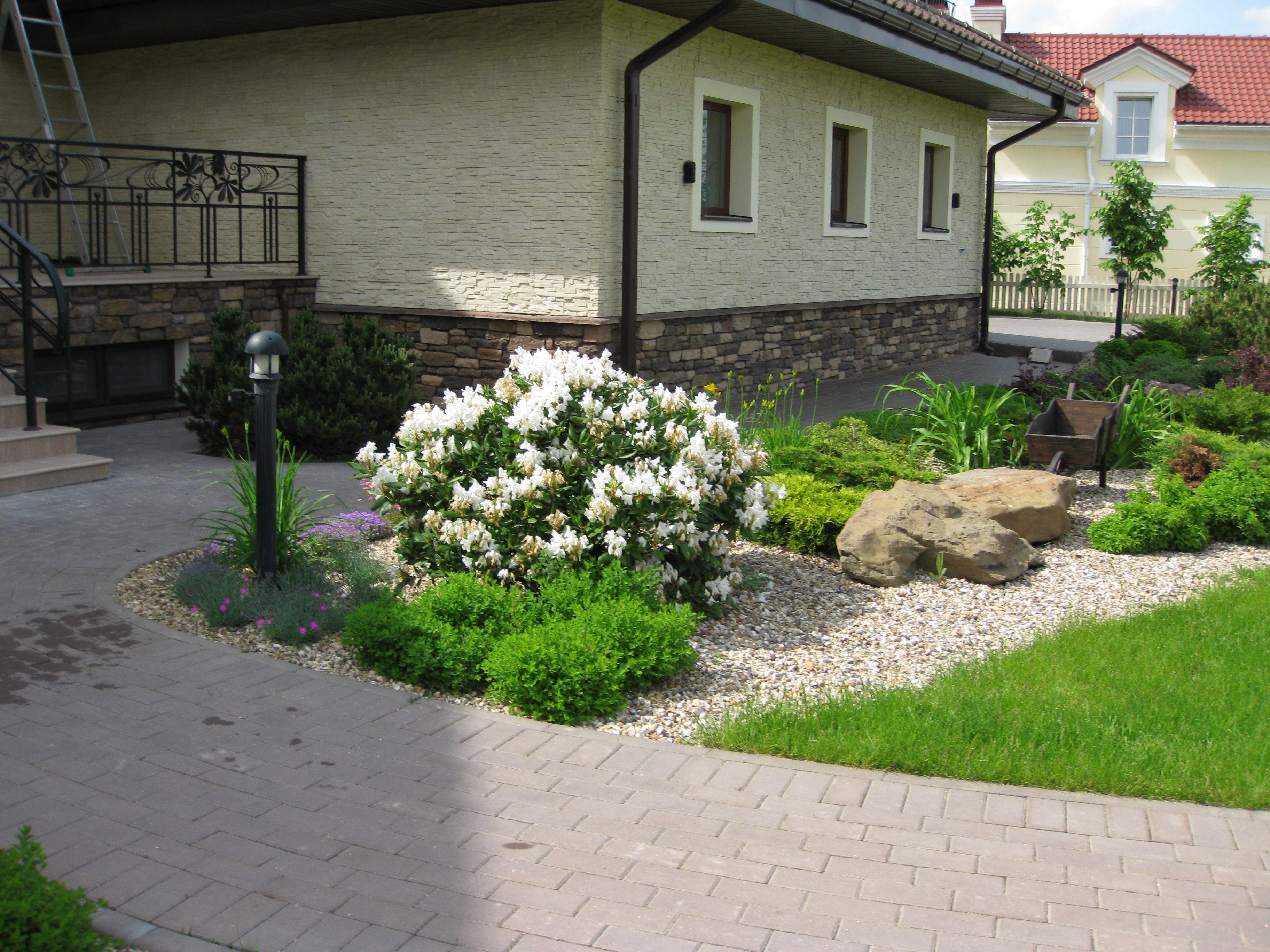 Интерьер возле дома фото