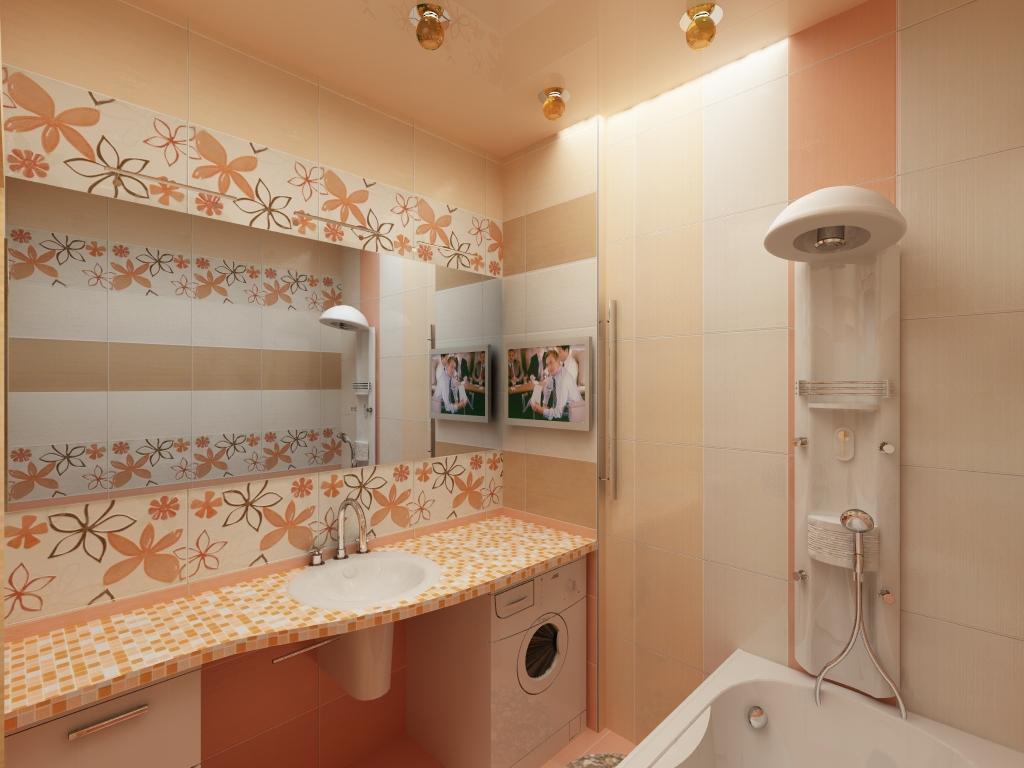 Готовые дизайны плитки ванных комнат